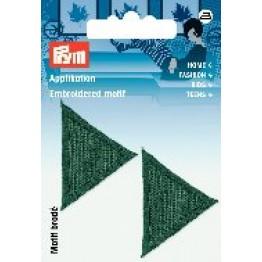 prym_Prym_Applikation_Dreiecke_dunkelgrün_grün