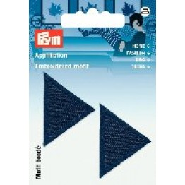 prym_Prym_Applikation_Dreiecke_dunkelblau_dunkelblau