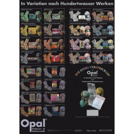 Opal Opal Hundertwasser III, 4-fädig