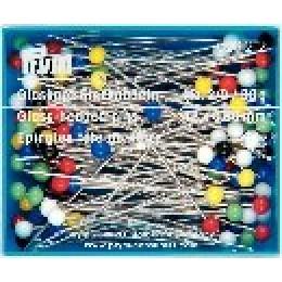Prym Glaskopfstecknadeln Stahl