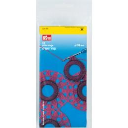 Prym Häkelringe flach, 36 mm