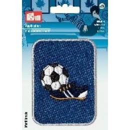 Prym Applikation Patch Fußball Schuh