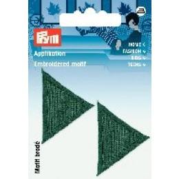 Prym Applikation Dreiecke dunkelgrün