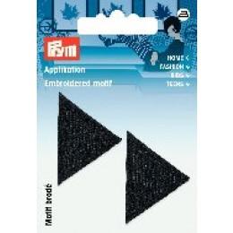 Prym Applikation Dreiecke schwarz