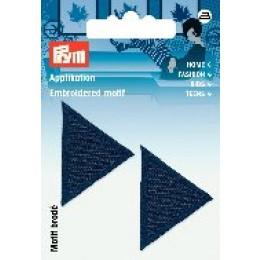 Prym Applikation Dreiecke dunkelblau