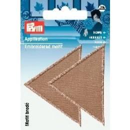 Prym Applikation Dreiecke groß beige