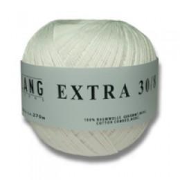 Lang Yarns Extra Ecru (natur) 30/div. Stärken