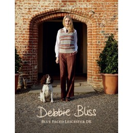 Debbie Bliss Strickheft Blue Faced Leicester