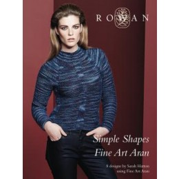 ROWAN Rowan Fine Art Aran Simple Shapes