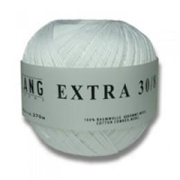 Lang Yarns Extra Weiss 30/div. Stärken