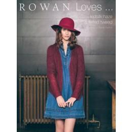 ROWAN Rowan Loves, kidsilk haze & felted